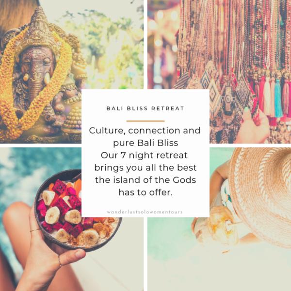 Wanderlust Solo Women tours-Bali retreat